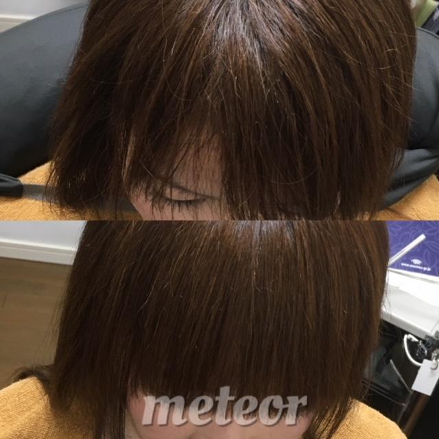 割れる 前髪